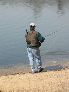 Free Angler Royalty Free Stock Photo - 667225