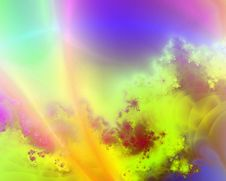 Free Fractal Background Royalty Free Stock Photography - 667267