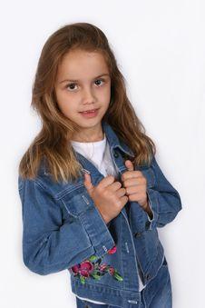 Free Posing Young Girl Stock Photo - 668150