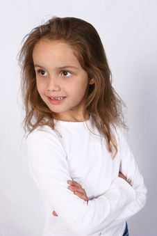 Free Posing Young Girl Stock Images - 668184
