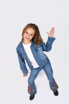 Free Posing Young Girl Stock Image - 668221