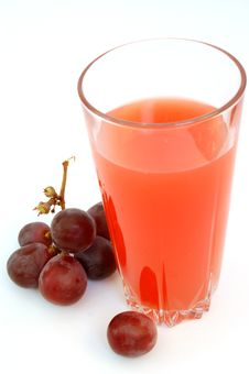 Free Juice With Grapes 2 Stock Photos - 668443