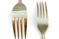 Free Forks 1 Royalty Free Stock Image - 668446