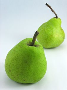 Free Two Pears Stock Photo - 668890