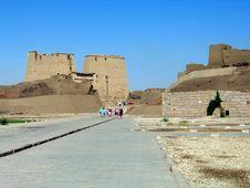 Free Temple Of Edfu Royalty Free Stock Photos - 669868