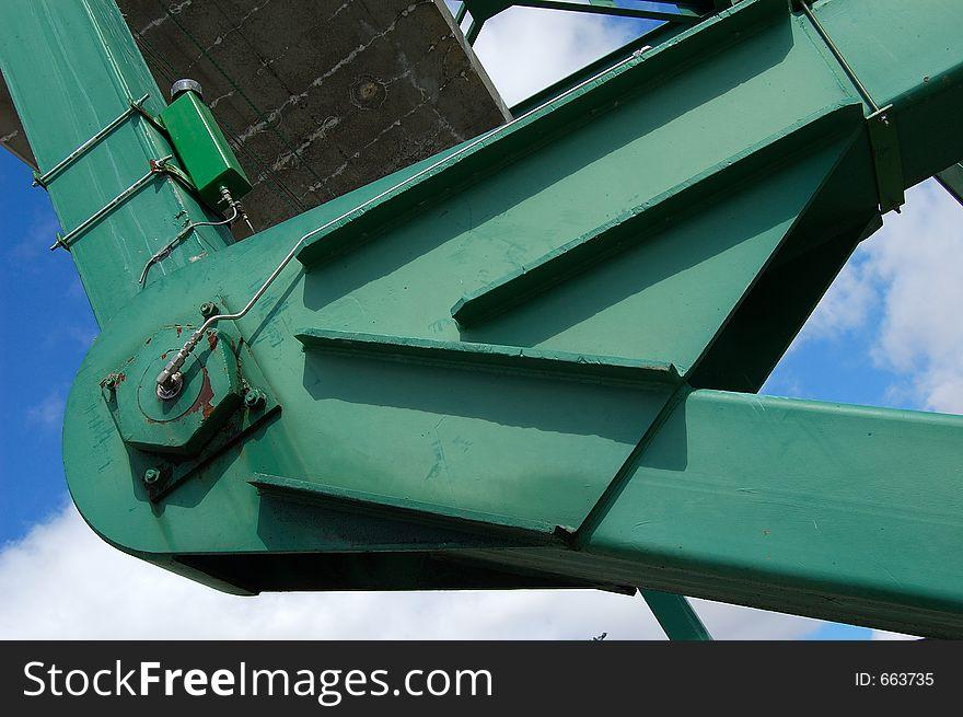 Articulated bridge (detail)