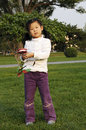 Free Chinese Girl Play Kite Royalty Free Stock Image - 6600956