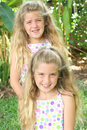 Free Cute Little Girls Outside Royalty Free Stock Photos - 6601148