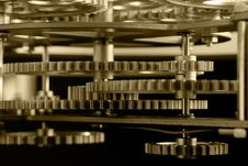 Free Gold Gears Stock Photo - 6600060