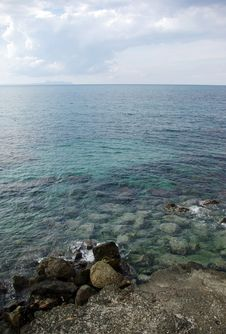 Free Mediterranean Sea. Royalty Free Stock Photos - 6600998