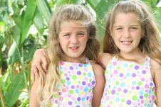 Beautiful Sisters Stock Photos