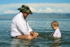 Free Happy Father Stock Photos - 6601423