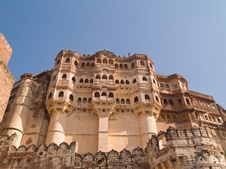 Mehrangarh Fort,Jodhpur Royalty Free Stock Image