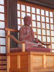 Free Monk Statue Stock Image - 6601681