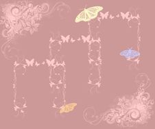 Free Vector Butterfly Stock Image - 6601731