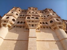 Mehrangarh Fort,Jodhpur Royalty Free Stock Photography
