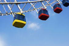 Free Ferris Wheel Royalty Free Stock Photos - 6602038