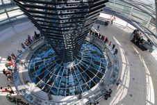 Free Glass Dome Of The  Reichstag Stock Photography - 6602112