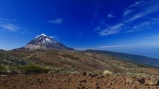 Free Teide Blue Hights Stock Photography - 6602472