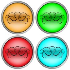 Free Web 2.0 Buttons Royalty Free Stock Image - 6602566