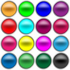 Free Web 2.0 Buttons Royalty Free Stock Images - 6602599
