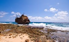 Free Shipwreck Royalty Free Stock Photography - 6602667