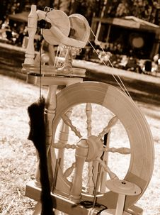 Free Spinning Wheel Stock Photos - 6602693