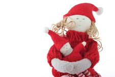 Free Christmas Doll Royalty Free Stock Photography - 6602827