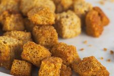Free Crusty Croutons Stock Photography - 6602862