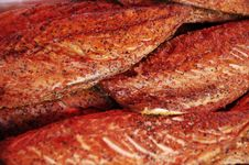 Free Salmon Steaks Stock Image - 6604161