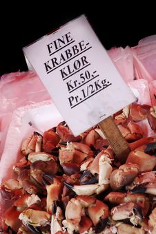 Free Crab Claws Royalty Free Stock Images - 6604339