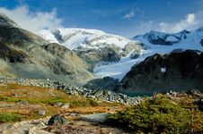 Free Glacier Moraine Royalty Free Stock Photos - 6604558