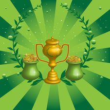 Free Golden Winner Cup Stock Image - 6604731