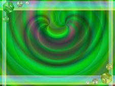 Free Pastel Green Gems Frame Stock Image - 6604741