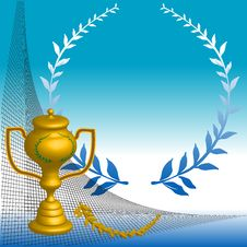 Free The Golden Cup Royalty Free Stock Image - 6604816
