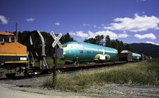 Free Airplane Fuselage On Railcar Stock Image - 6605101