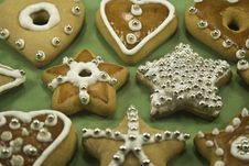 Free Christmas Cookies Royalty Free Stock Image - 6605226