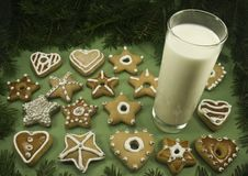 Free Cookies And Milk Royalty Free Stock Photos - 6605248