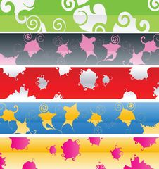 Free Vector Banner Design Stock Image - 6605821