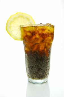 Free Lemon Cola Royalty Free Stock Photography - 6605877