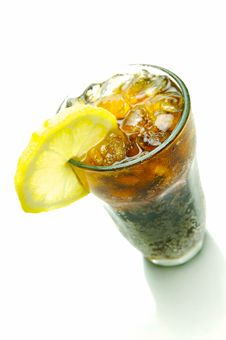 Free Lemon Cola Stock Photo - 6605890