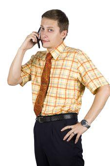 Free Young, Elegant Businessman Stock Image - 6606181