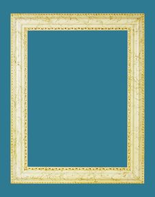 Free Gold Picture Frame Stock Photo - 6606730