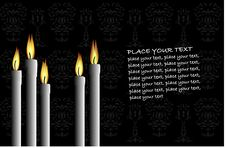 Free Candles Royalty Free Stock Photography - 6607457