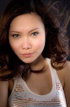 Free Glamourous Asian Woman Stock Photos - 6608363