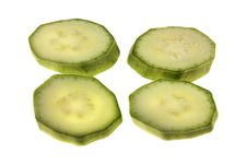 Free Slices Of Vegetable Marrow Royalty Free Stock Image - 6608426