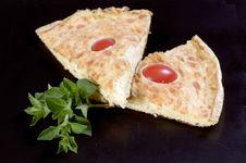 Free Frittata Omlet Slices Stock Images - 6608434