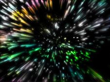 Free Lots Of Colorful Particles Emission Stock Photos - 6608883
