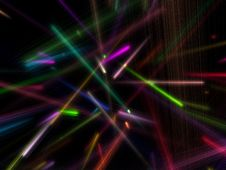 Free Lots Of Colorful Particles Royalty Free Stock Photo - 6608935