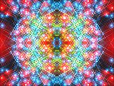 Free Colorful Mirrored Fantasy Alien Scene Stock Photo - 6609090